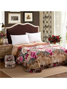 Blooming Flowers Printed Comfortable and Sotf Cotton Printed Sheet