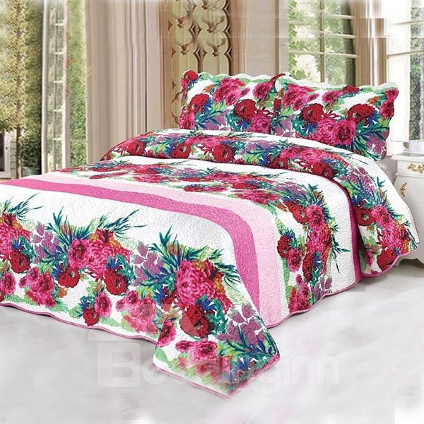 Fantastic and Romantic Gorgeous  3-Piece Bed in a Bag