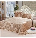 Comfortable and Soft Elegant Pleuche Reactive Print 3-Piece Bed in a Bag