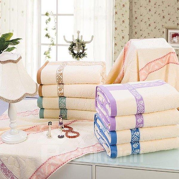 Graceful Jacquard Super Soft Cotton Bath Towel