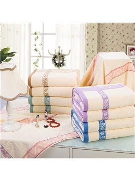 Graceful Jacquard Super Soft Cotton Bath Towel