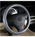 Simple And Elegant Four Season Leather Steering Wheel Covers