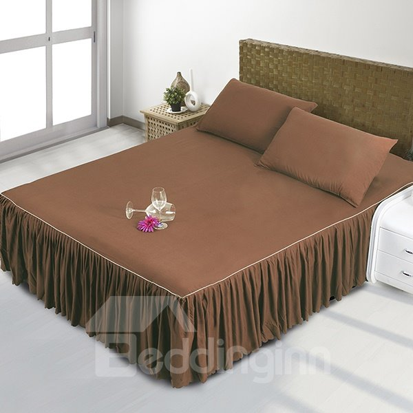 Soft and Comfortable Sorts of Color Polyester Fiber Bed Skirt