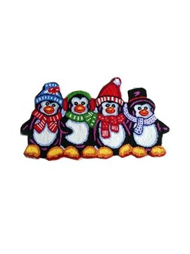 Comfy Attractive Cartoon Penguin Acrylic Fibres Bath Rug
