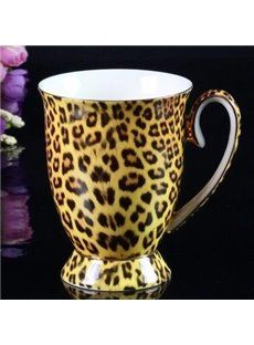 Fantastic Bone China Leopard Grain Creative Mug