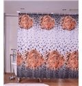 Cool Resting Leopard Water-repellent Polyester Shower Curtain