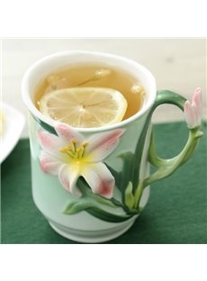 Wonderful Creative Pretty Enamel and Ceramic Coffee Mug