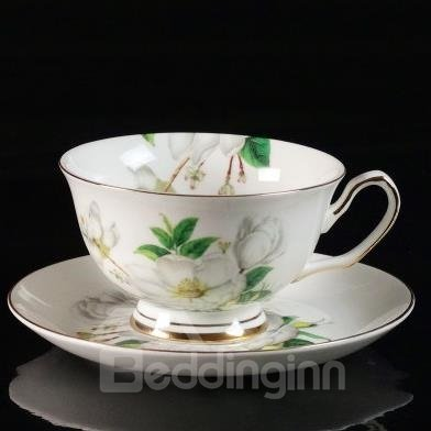 Pure and Fresh Bone China European Coffee Mug