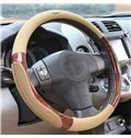 Comfortable and Classical Pecan Anti-Skidding Steering Wheel Covers