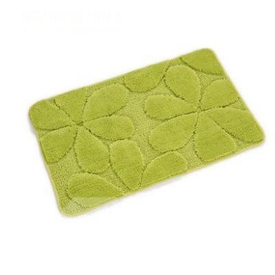 Beautiful Green Rectangular Doormat for Home Decoration