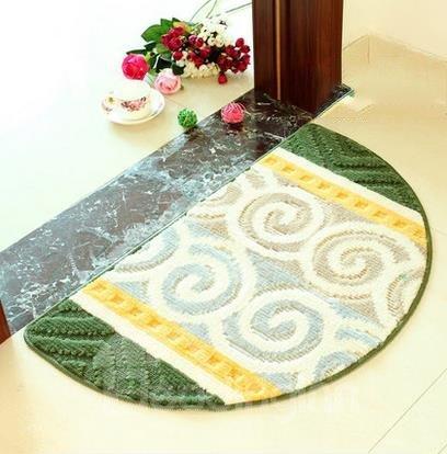 Popular Geometric Pattern Semicircle Doormat