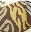 Popular Abstract Semicircle Machine Made Doormat