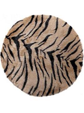 Popular Circular Acrylic Fibres Non-Slip Doormat