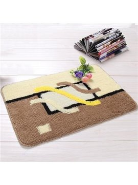 Wonderful Geometry Pattern Rectangular Non-Slip Doormat