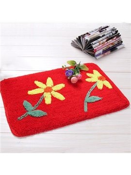 Top Quality Pretty Sun Flower Non-Slip Doormat