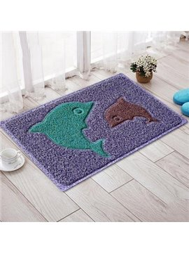 Classic Environmental Protection PVC Dolphin Doormat