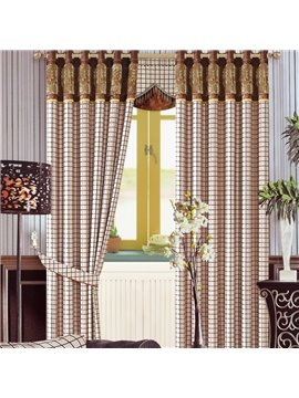 Contemporary High Quality High Shading Degree Grommet Top Curtain