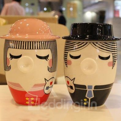 Fantastic Ceramic Creative Mug for Lovers