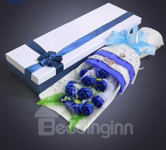Fantastic Never Fade Cinderella 11-Piece Soap-Made Rose Flowers