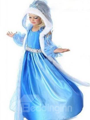 Cinderella Full Lace  Cover Hooded Girl Costume