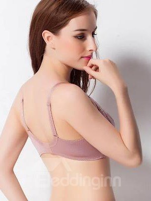 High Quality Push Up Adjustable Shoulder StrapsFull Lace Bra