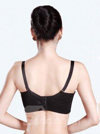 Sexy Push Up Adjustable Straps Underwire Bra