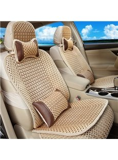 Lightweight Cooling Design Linen Fabric For Summer Universal Car Seat Covers