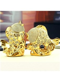 Fantastic Beautiful 1-Set Goldfish Desktop Decoration