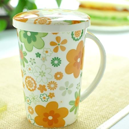 Wonderful Pretty Summer Flowers Coffee Mug