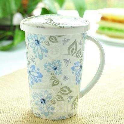 New Classic Pretty Wonderful Bone China Coffee Mug