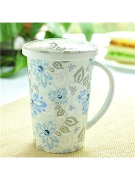 New Classic Pretty Wonderful Bone China Coffee Mug