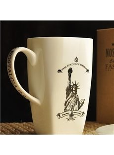 Fantastic Simple Starbucks Style Bone China Coffee Mug