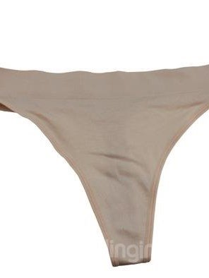 Comfy Soft Solid Color 1 Piece Cotton Thong Panty