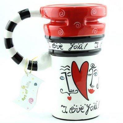 Never Fade Color Painted Ceramic Coffee Mug