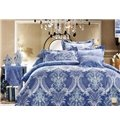 Damask Havana Reversible Pattern 4-Piece Bedding Sets/Duvet Cover
