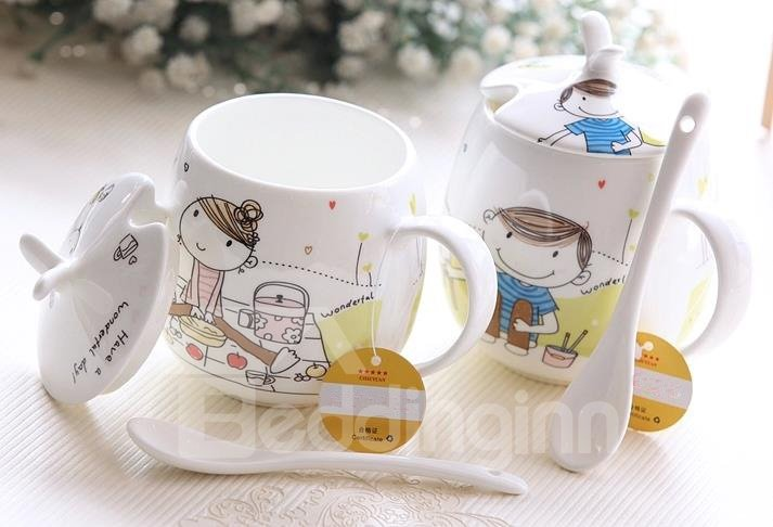 Fantastic Colorful Life Ceramic Coffee Mug for Lovers
