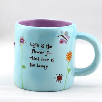 Fantastic Sky Blue Small Size Coffee Mug