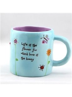 Fantastic Sky Blue Small Size Coffee Mug