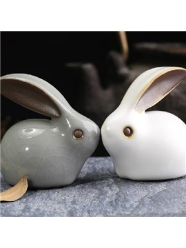 Wonderful 1-Set Lucky Rabbits for Desktop Decoration
