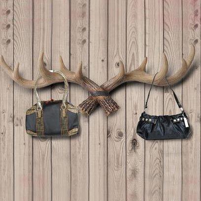 Top Classic European Style Creative Antlers Wall Hook
