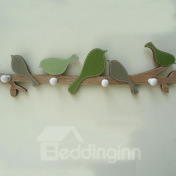 Wonderful Countryside Creative Wood Wall Hook