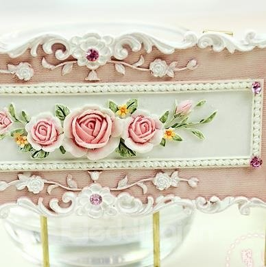 Beautiful Creative Rose Flowers Wall Hook