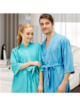 Top Selling Summer Cotton Toweling Material Women's Bathrobe