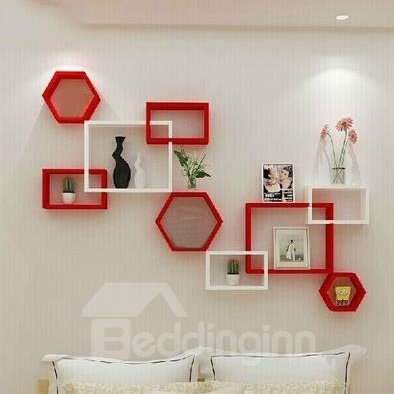Fantastic Modern 1-Set Wood Wall Shelves
