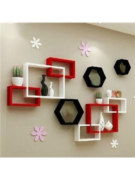 Popular Pretty 1-Set Wood Wall Shelves