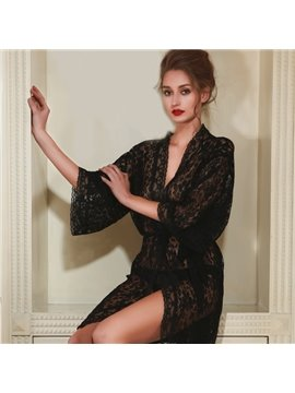 Hot Selling Super Attractive sexy lingerie Bathrobe