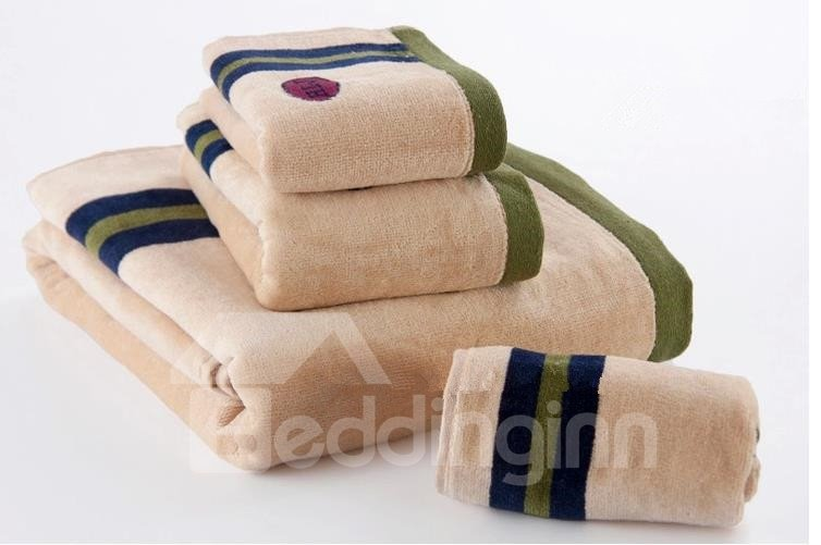 Sport Color Bar Soft Pure Cotton Men