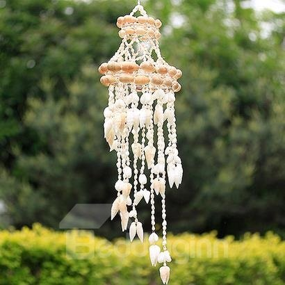 Fantastic Pretty Natural Conch Shells Wind Chime