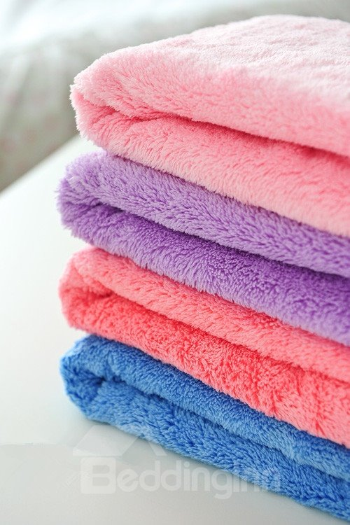 Long Wool  Water Absorption Hair-Drying Towel
