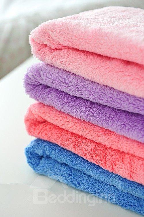 Long Wool  Water Absorption Hair-Drying Towel